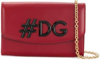 Dolce & Gabbana I Love wallet on a chain