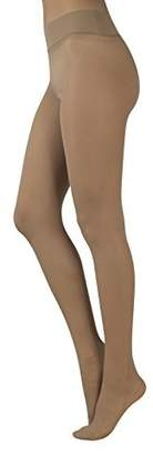 Calzitaly Seamless Sheer Tights | No Seam Pantyhose | 15 Den | , Skin, Blue | Made In Italy (M/L, )