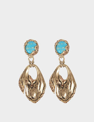 Roberto Cavalli Glam Stone Earrings