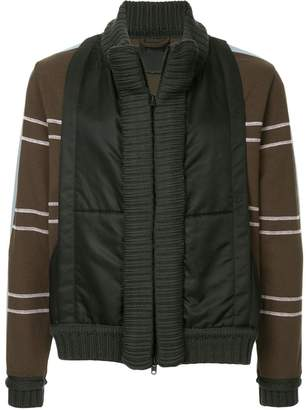 Craig Green striped sleeves panelled jacket