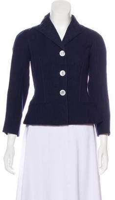 Louis Vuitton Linen Silk-Blend Blazer