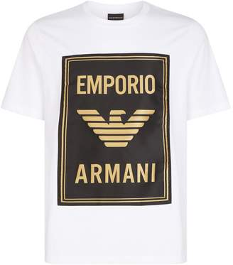 Emporio Armani Poster Logo T-Shirt