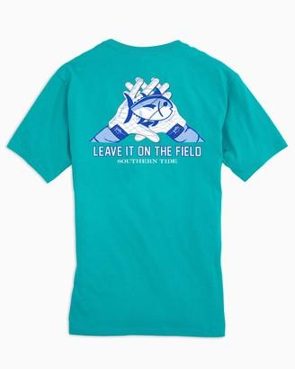 Southern Tide Gameday Skipjack Gloves T-shirt - Coastal Carolina University