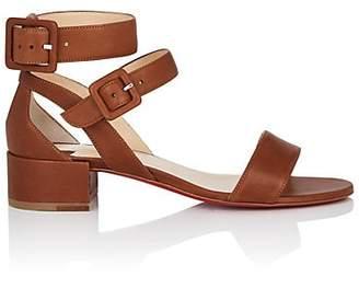 9c634b8e9 Christian Louboutin Women s Multipot Leather Sandals - Cuoio