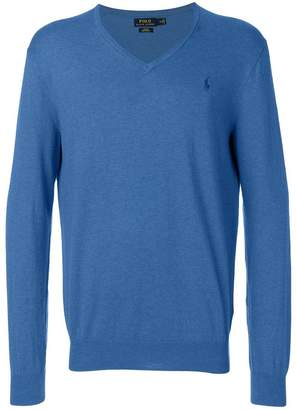 Polo Ralph Lauren fine knit v-neck sweater