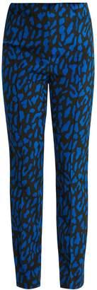 Diane von Furstenberg Belmont-print skinny-leg trousers