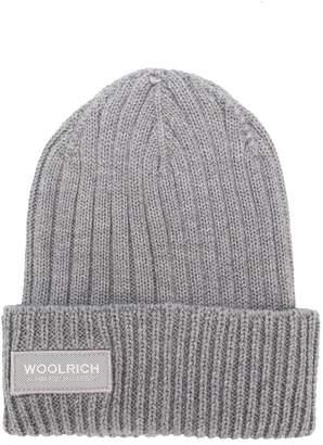 Woolrich Kids logo patch hat