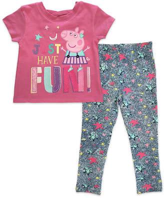 Peppa Pig 2-pack Legging Set-Toddler Girls