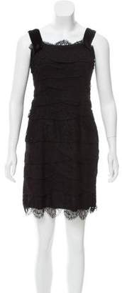 Lanvin Tiered Lace Dress