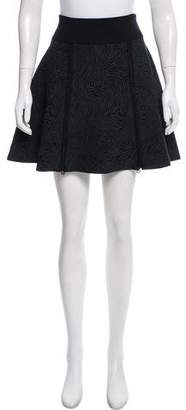 Opening Ceremony Pattern Knit Mini Skirt