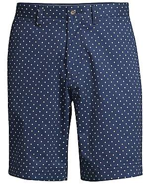Polo Ralph Lauren Men's Polka Dot Stretch Military Shorts