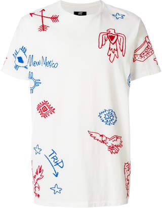 HTC Los Angeles printed T-shirt