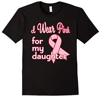 I Wear Pink for my Daughter Breast Cancer Awareness T-Shirt