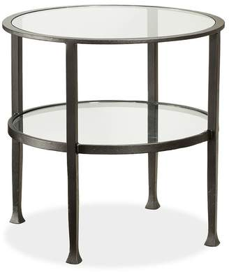 Pottery Barn Tanner Round End Table