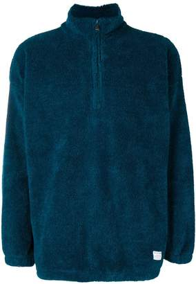 The Silted Company half zip jumper