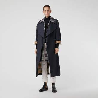 Burberry Double-Front Oversized Car Coat