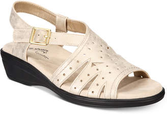 Easy Street Shoes Roxanne Wedge Sandals Women's Shoes