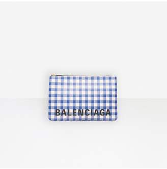 Balenciaga Ville Pouch L Check