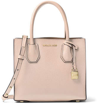 MICHAEL Michael Kors Mercer Medium Double-Sided Leather Tote Bag