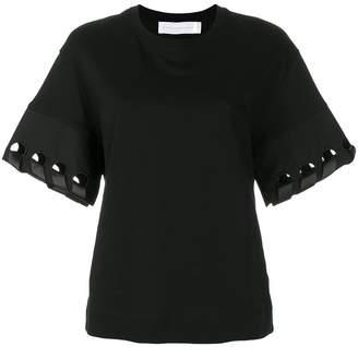 Victoria Victoria Beckham cut-out sleeve top