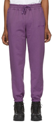 Leon Aime Dore Purple French Terry Lounge Pants