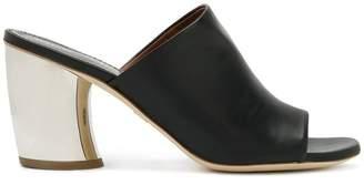 Proenza Schouler metallic-heel sandals