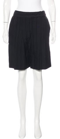 Anna Sui Anna Sui Pleated Knee-Length Shorts w/ Tags