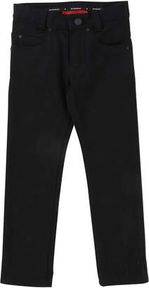 Givenchy Denim Pants w\/ Back Leatherette Pocket Size 12-14
