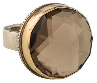 Jamie Joseph Smoky Quartz Cocktail Ring