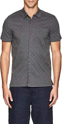 Blank NYC Blanknyc Men's Polka Dot Cotton Shirt