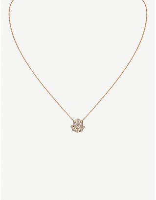 Cartier Étincelle de 18ct pink-gold and diamond necklace