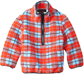 Burberry Check Fleece Jacket