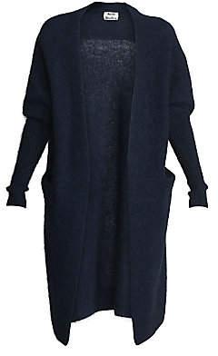 Acne Studios Women's Oversized Open-Front Cardigan