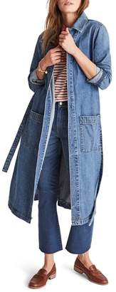 Madewell Denim Duster