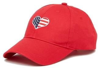 Collection XIIX Peace Love USA Baseball Cap
