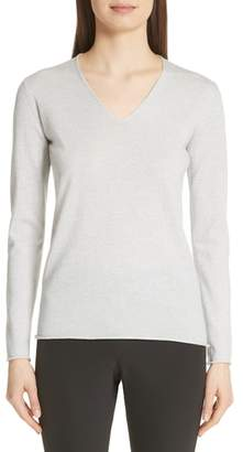 Fabiana Filippi Metallic Wool Blend Sweater