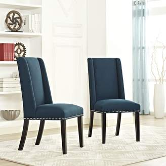 Co Darby Home Florinda Wood Leg Upholstered Dining Chair