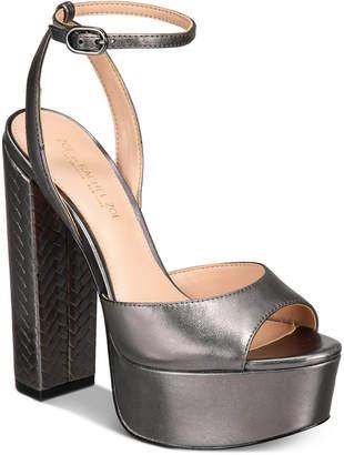 Rachel Zoe Zoe by Claire Platform Sandals Women Shoes
