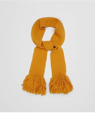 Bottega Veneta Tangerine Wool Scarf