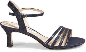Nina Nelena Embellished Ankle-Strap Sandals