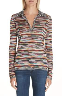 Missoni Multicolor Polo Sweater