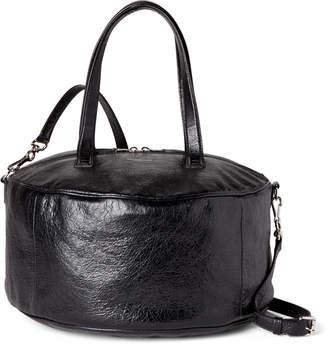Balenciaga Black Air Hobo Medium Leather Tote