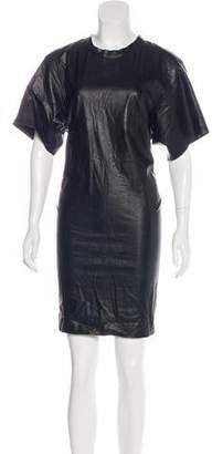 Isabel Marant Short Sleeve Knee-Length Dress
