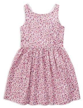 Ralph Lauren Girls' Fit-and-Flare Floral Dress - Little Kid