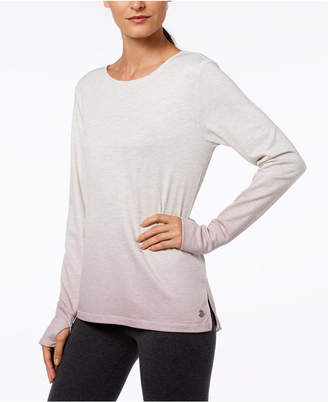 Ideology Cutout-Back Gradient Top