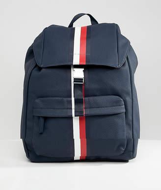 Tommy Hilfiger block stripe backpack in navy