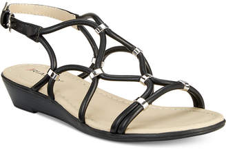 Rialto Gillian Strappy Wedge Sandals