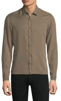 The Kooples Military Button-Down