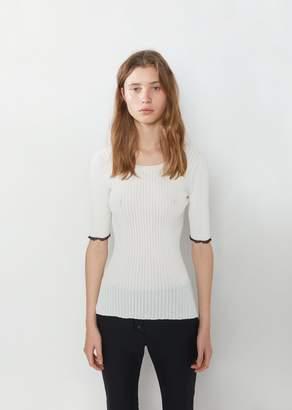 Proenza Schouler Lightweight Viscose Rib Sweater
