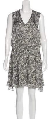 Theyskens' Theory Printed Sleeveless Dress